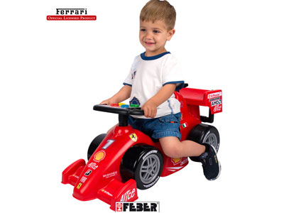 Feber Ferrari F2008 Foot to Floor Car