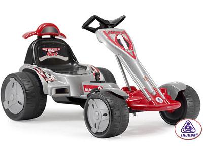 Injusa Big Wheels Go-Kart 12v