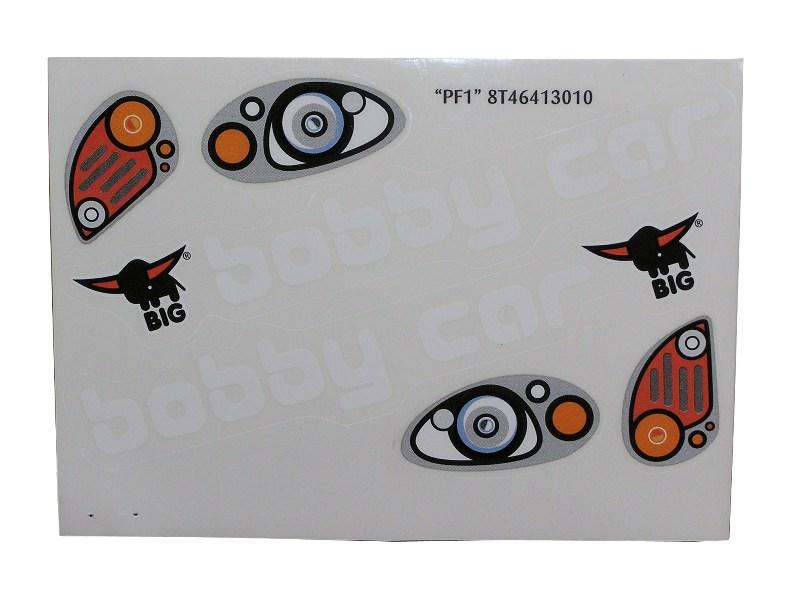 big bobby car sticker kit. Black Bedroom Furniture Sets. Home Design Ideas