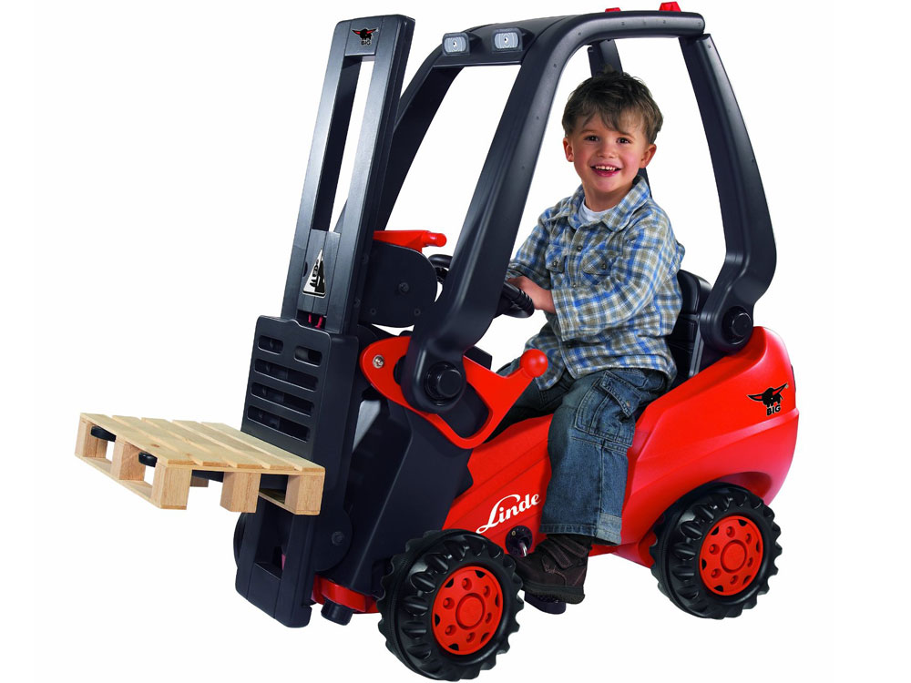 big linde forklift. Black Bedroom Furniture Sets. Home Design Ideas