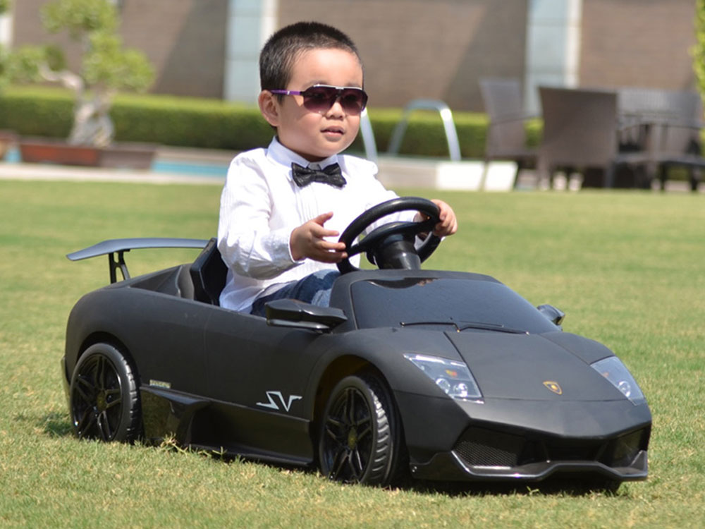 Lamborghini Electric Car For Kids >> Kalee Lamborghini Murcielago LP670 12v Black