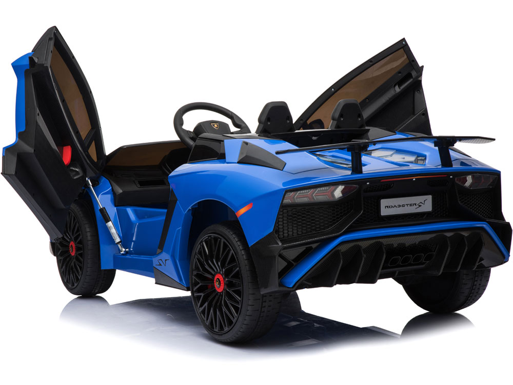 Mini Moto Lamborghini 12v Blue  2 4ghz Rc