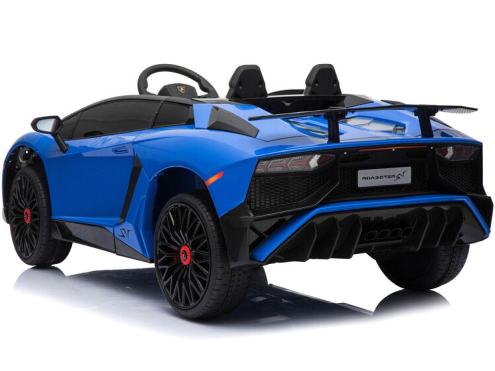 Mini Moto Lamborghini 12v Blue  2 4ghz Rc