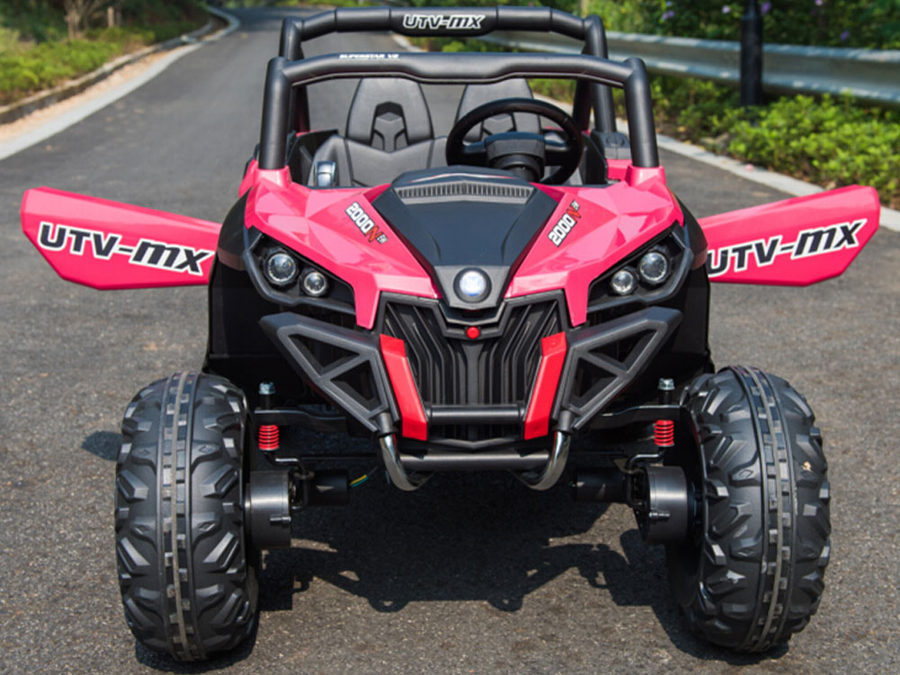 Mini Moto Utv 4x4 12v Pink  2 4ghz Rc