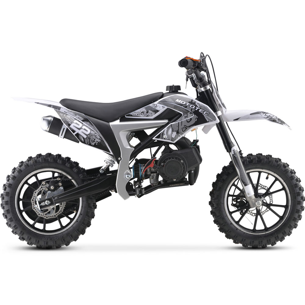 MT-DB-50cc-Demon_White_3  Cc Dirt Bike Engine Diagram on 2 stroke modified, yamaha ttr, street legal, mini moto, can adult ride, used yamaha, training wheels, red honda,