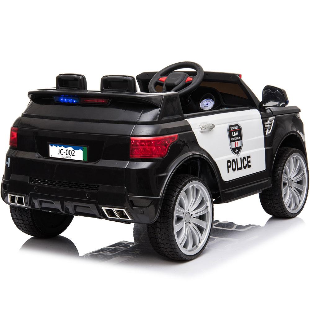 MotoTec Police Car 12v Black (2.4ghz RC