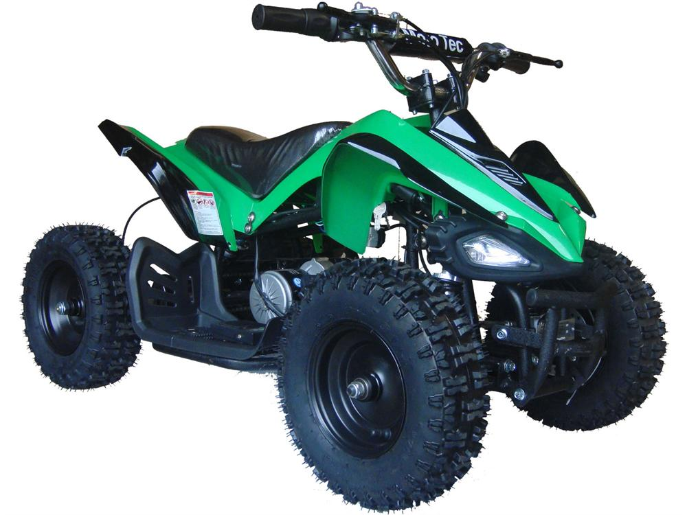 Shark Kids Electric ATV, 2-Speed with Reverse Green