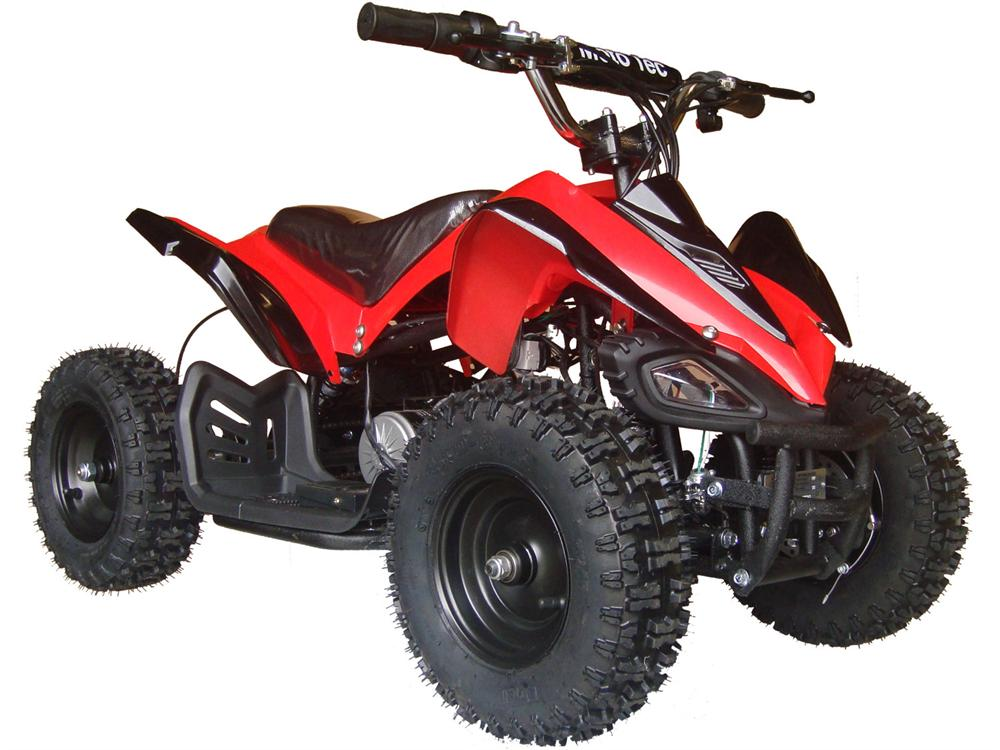 Shark Kids Electric ATV, 2-Speed with Reverse Red