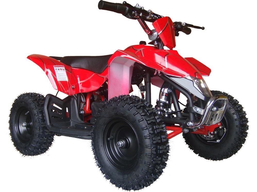 Explorer Kids Electric ATV, 2-Speed with Reverse, Headlight 350w Red