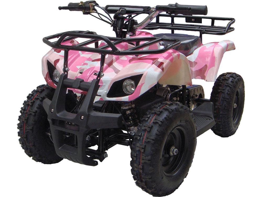 Talon Kids Electric ATV  | 2-Speed with Reverse Pink