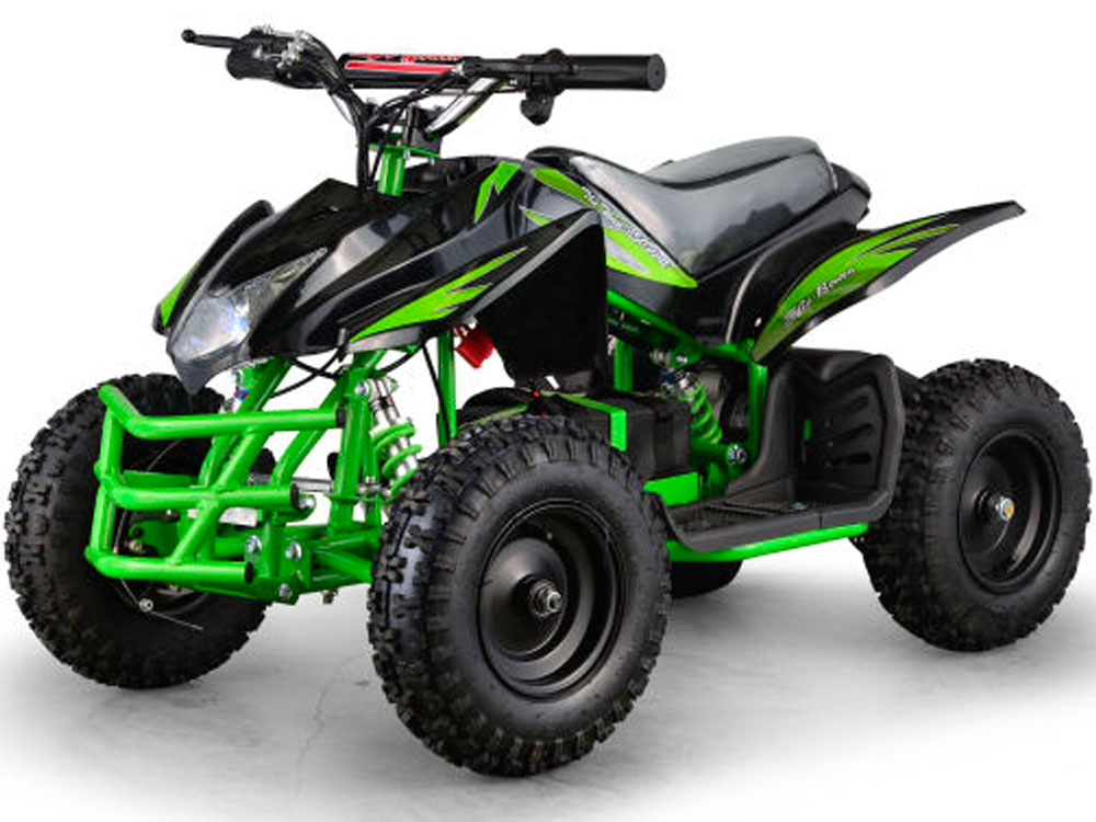 MotoTec 24v Mini Quad Titan v5 Black/Green