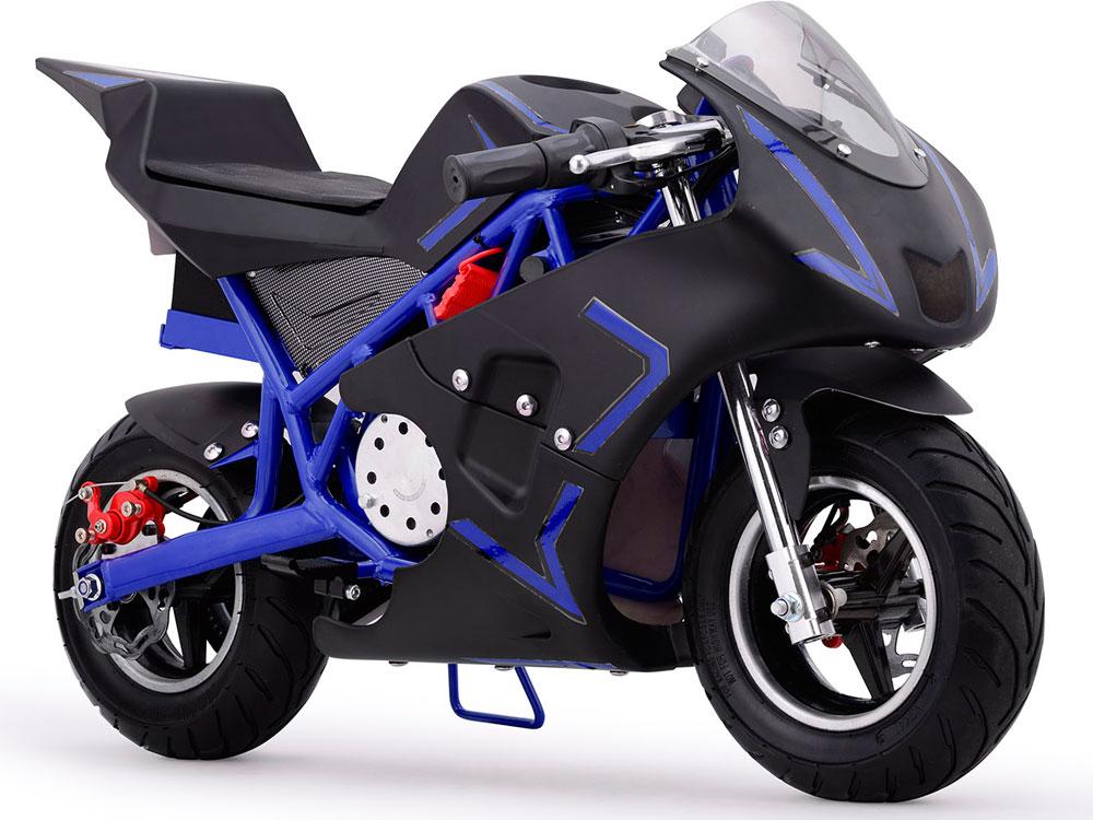 Cali Electric Pocket Bike 36v Blue