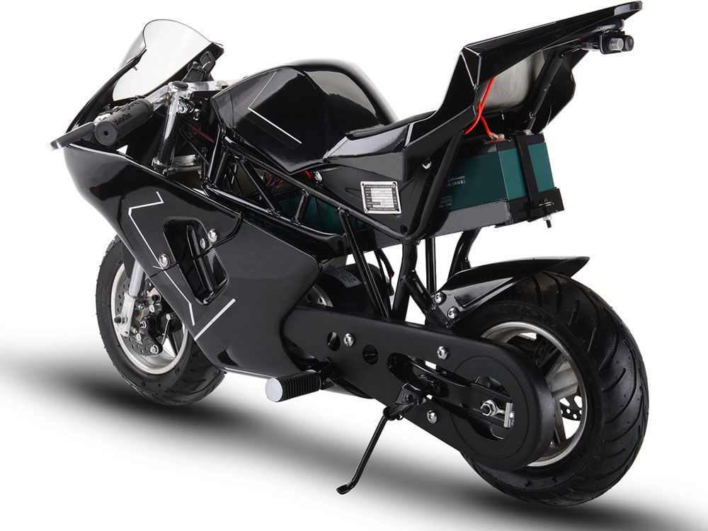 Mototec 36v 500w Electric Pocket Bike Gp Black