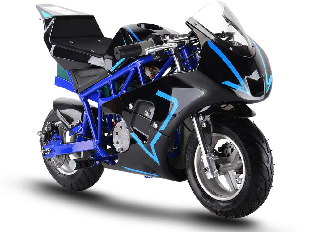 36v 500w gp mototec high performance electric pocket bike. Black Bedroom Furniture Sets. Home Design Ideas