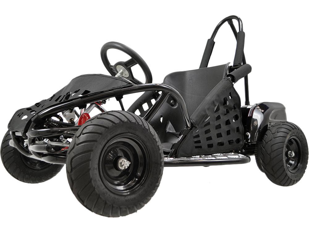 mototec off road go kart 48v 1000w black. Black Bedroom Furniture Sets. Home Design Ideas