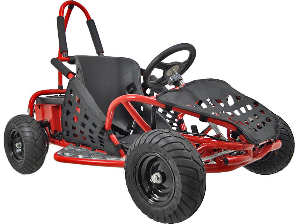 Off Road Go Kart 48v 1000w Red