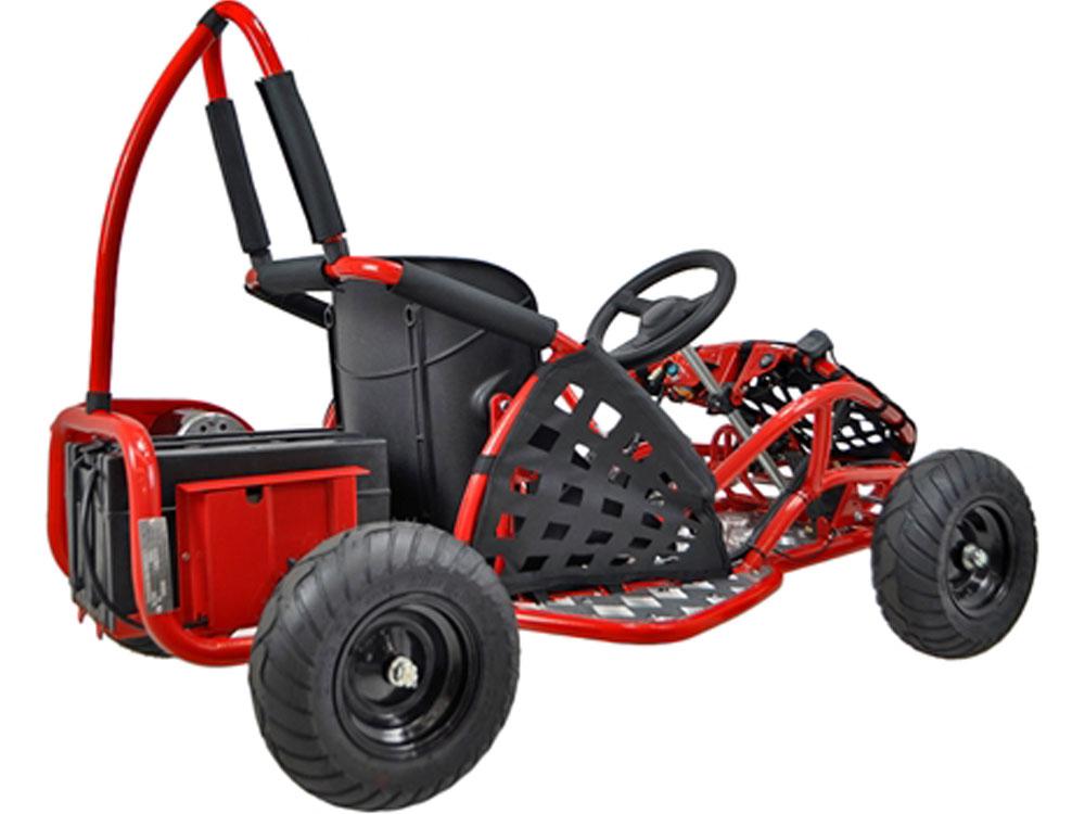 mototec off road go kart 48v 1000w red. Black Bedroom Furniture Sets. Home Design Ideas