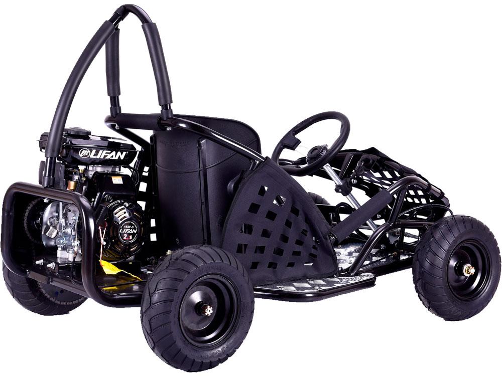 MotoTec Off Road Go Kart 79cc Black
