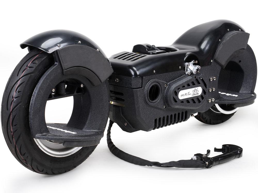 Mototec Wheelman V2 50cc Gas Skateboard Black