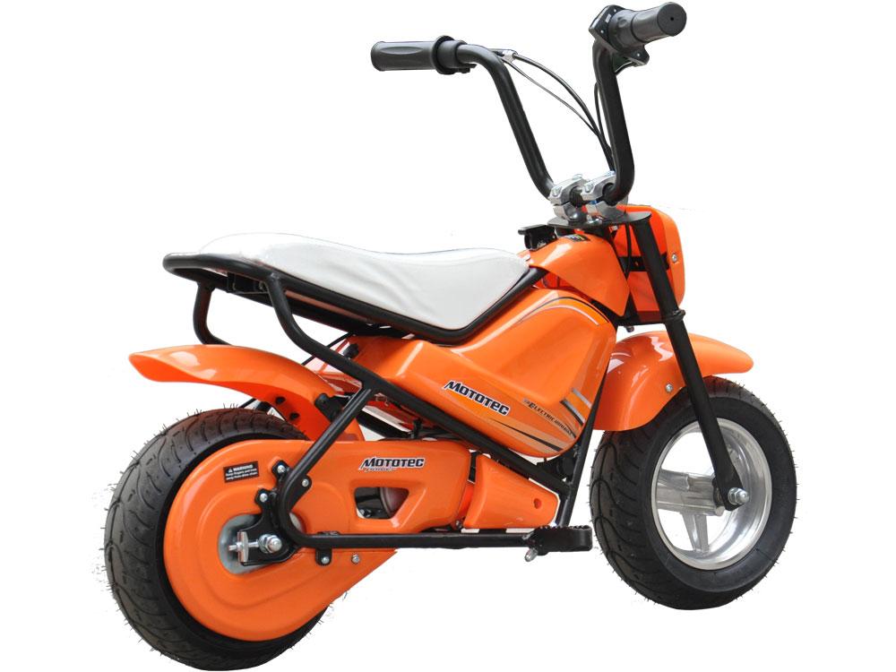 mototec 24v electric mini bike orange. Black Bedroom Furniture Sets. Home Design Ideas