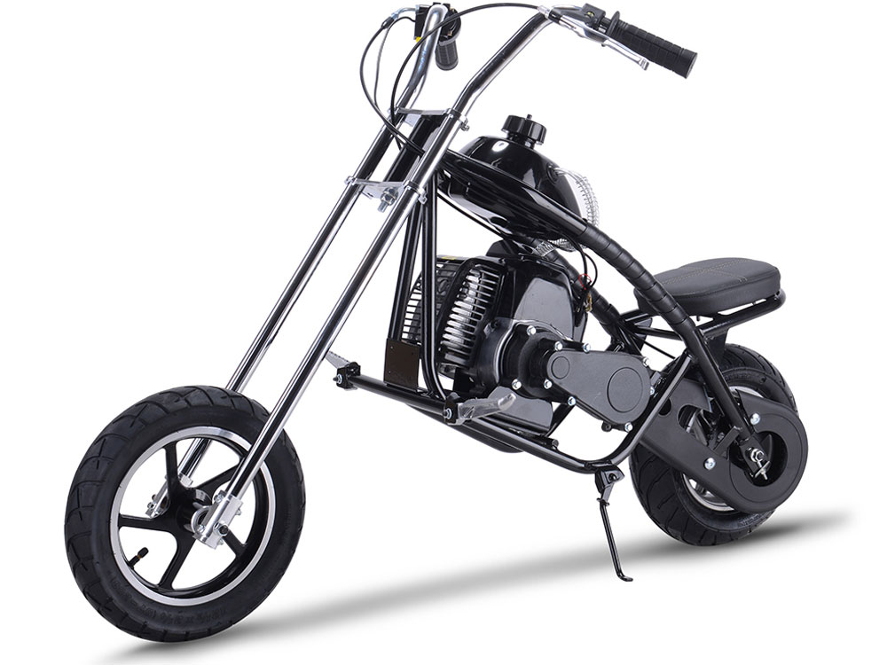 Mototec 49cc Gas Mini Chopper Black