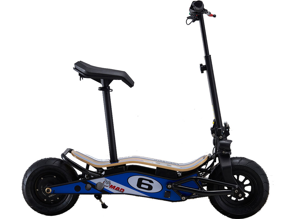 mototec minimad 800w 36v lithium electric scooter. Black Bedroom Furniture Sets. Home Design Ideas