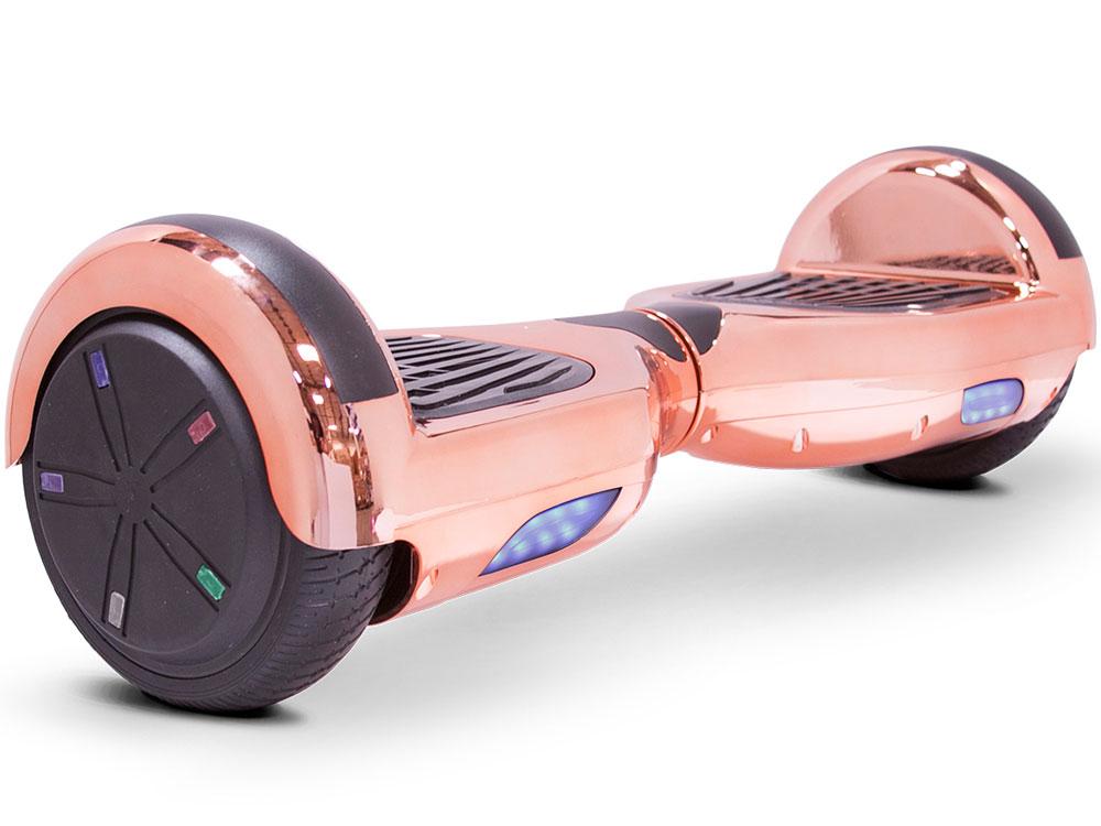 Hoverboard 24v 6.5inch Rose Gold Chrome