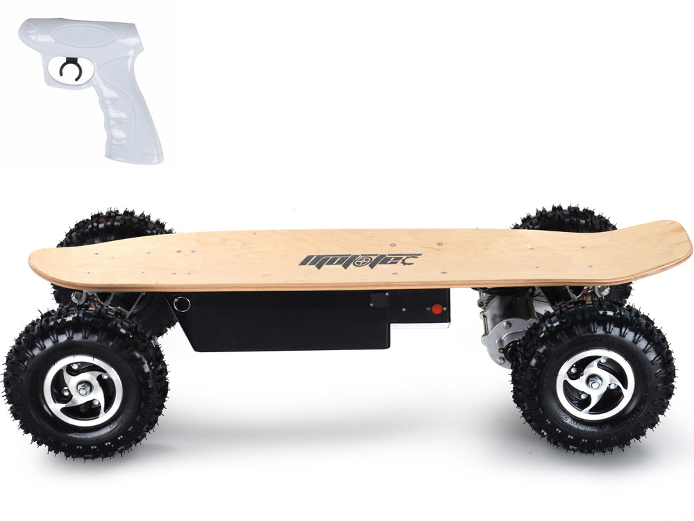 mototec 1600w dirt electric skateboard dual motor. Black Bedroom Furniture Sets. Home Design Ideas