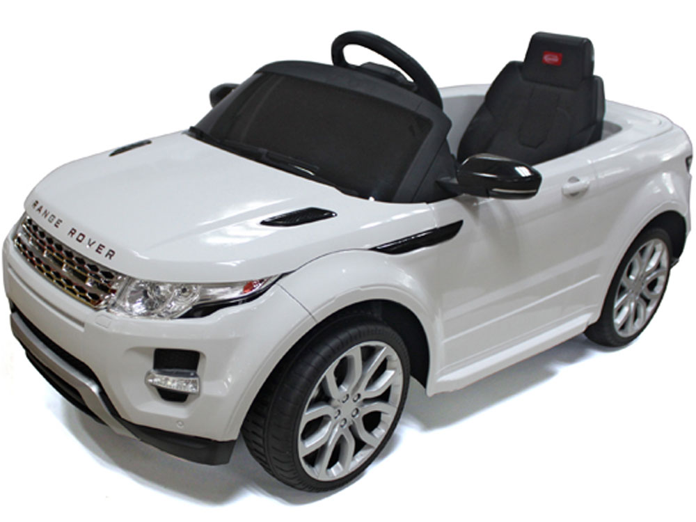 rastar land rover evoque 12v white remote controlled. Black Bedroom Furniture Sets. Home Design Ideas