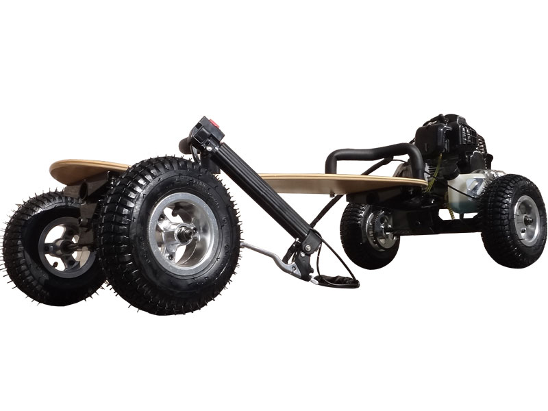 Scooterx Skateboard 49cc Black