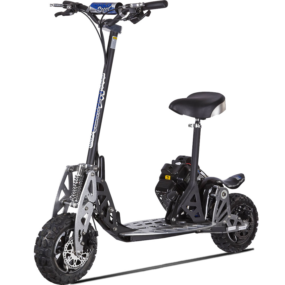 uberscoot 2x 50cc scooter by evo powerboards. Black Bedroom Furniture Sets. Home Design Ideas