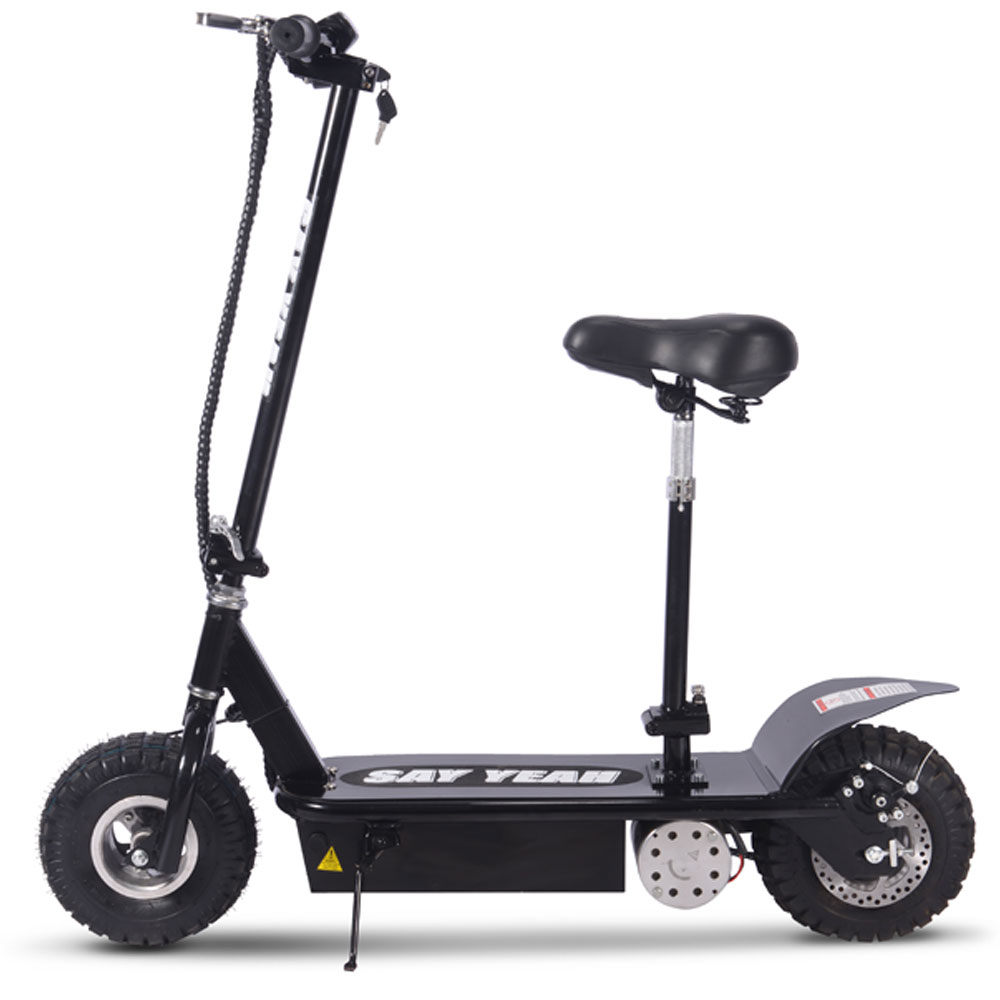 say yeah 800w 36v electric scooter black