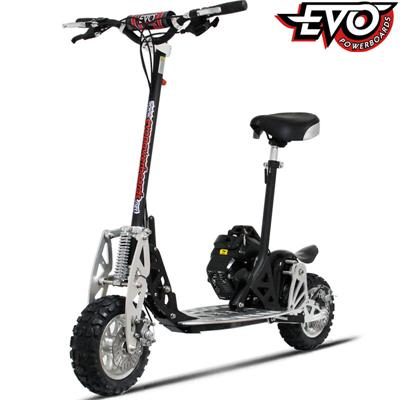 EVO 2X, EVO 50cc Gas Scooter, Evo Powerboards 2X Gas Scooter,EVO2X 50cc