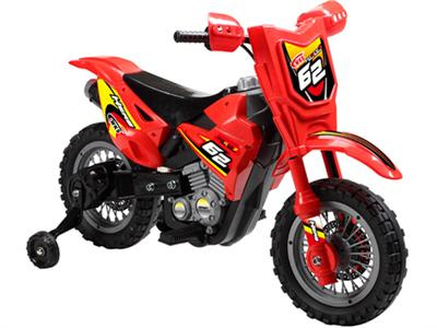 Dirt Bike 6v Red