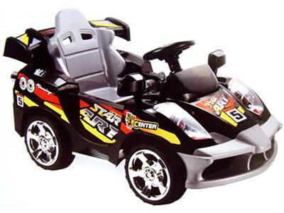 Mini Motos Star Car 6v Black (Remote Controlled)