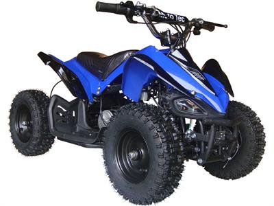 Shark Kids Electric ATV, 2-Speed with Reverse Blue