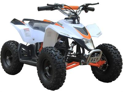 Explorer Kids Electric ATV, 2-Speed with Reverse, Headlight 350w White