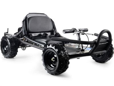 SandMan 49cc Go Kart Black