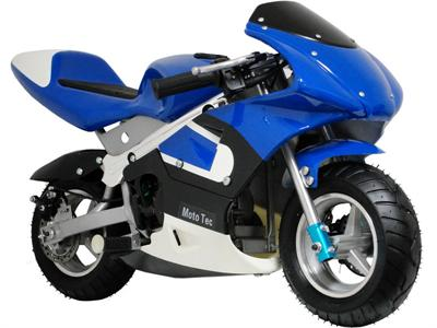 Gas Pocket Bike Blue