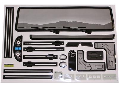 Npl mercedes benz g55 12v truck sticker kit a for A mercedes benz product sticker
